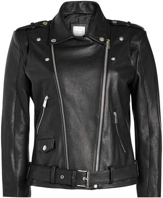 Anine Bing Leather Biker Jacket