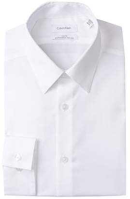 Calvin Klein Oxford Trim Fit Dress Shirt