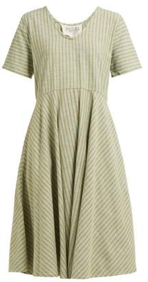 Ace&Jig Luella Striped Cotton Dress - Womens - Green Multi
