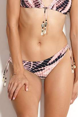 Watercult Womens Batik Beach Tie Side Bikini Bottom - Pink