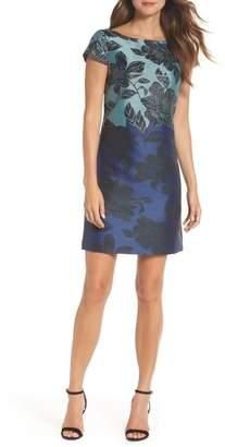 Vince Camuto Jacquard Sheath Dress