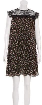 Philosophy di Lorenzo Serafini Floral Silk Dress