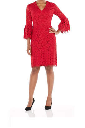 Maggy London Red Lace Dress