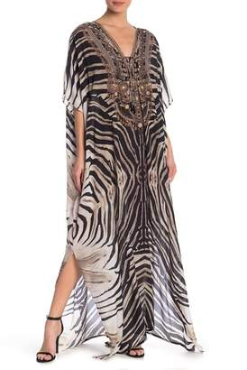 Shahida Parides 3-Way Long Convertible Print Kaftan