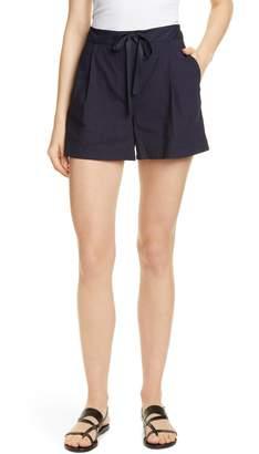 Nordstrom Signature Drawstring Stretch Linen Blend Shorts