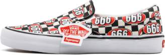 Vans Slip On PRO (Supreme) 'Supreme 666' - (Supreme 666) Checker
