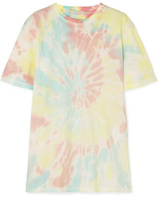 Stella McCartney Oversized Tie-dyed Cotton-jersey T-shirt - Blush
