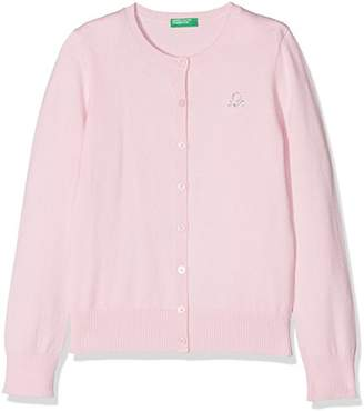 Benetton Girl's L/s Sweater Jumper,(Manufacturer Size: XX)