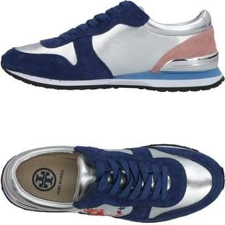 e9a7ea6ecb53 Tory Burch Silver Women s Sneakers - ShopStyle