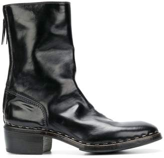 Premiata low heeled boots