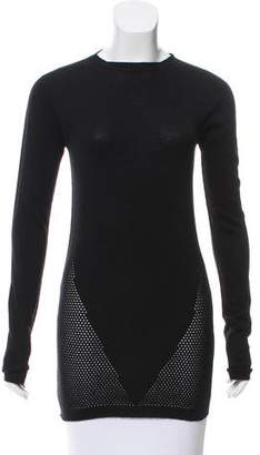 Gareth Pugh Silk-Blend Knit Top