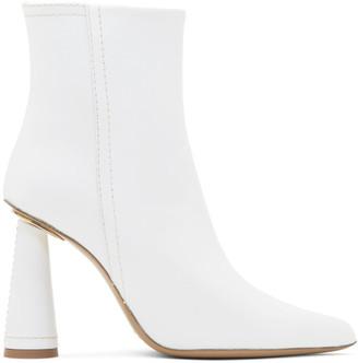 Jacquemus White Les Bottes Toula Boots