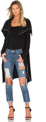 Norma Kamali Side Snap Cardigan & Dress $250 thestylecure.com