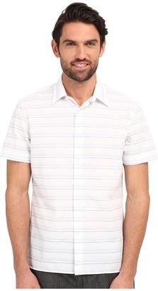 Perry Ellis Horizontal Textured Stripe Shirt $49.99 thestylecure.com