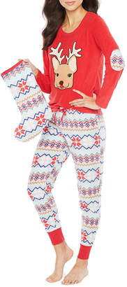 Couture Pj PJ Cuddly Critters 3pc Pant Pajama Set