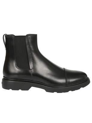 Hogan Men's Hxm3930w330dsib999 Leather Ankle Boots