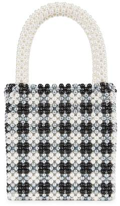 Shrimps Willow Faux Pearl Top Handle Bag
