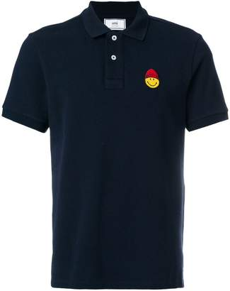 Ami Alexandre Mattiussi Polo Shirt Smiley Patch