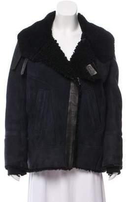 IRO Shearling Moto Jacket