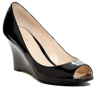 Cole Haan Kenzie Peep Toe II Wedge
