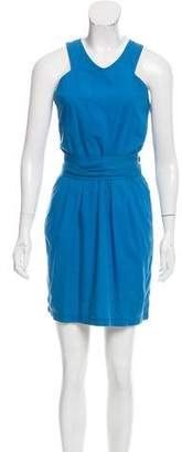 Stella McCartney Sleeveless Sash Tie Dress