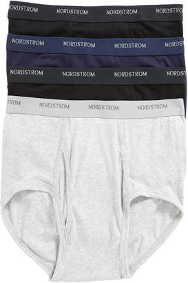 Nordstrom 4-Pack Supima(R) Cotton Briefs