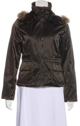 Andrew Marc Fur Trimmed Jacket