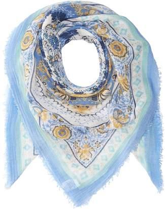 Collection XIIX Batik Medallion Square Scarves