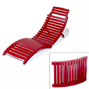 Red Siesta Pool Lounger