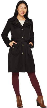 London Fog Women's Water Repellent Trench Coat