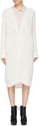 3.1 Phillip Lim Mixed knit long cardigan