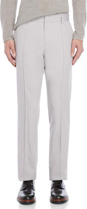 Kenzo Light Grey Tapered Wool Pants