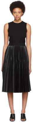 Givenchy Black Plisse Dress