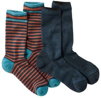 L.L. Bean L.L.Bean Everyday Chino Socks, Midweight Two-Pack
