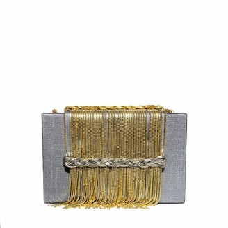 Simitri Grey Dreamy Clutch