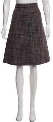 Marc Jacobs Wool Tweed Skirt