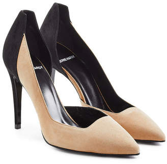 Pierre Hardy Two Tone Suede Pumps