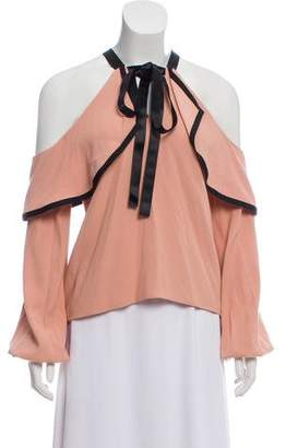 Alexis Off-The-Shoulder Ruffled Blouse