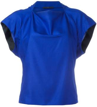 Haider Ackermann slash neck top