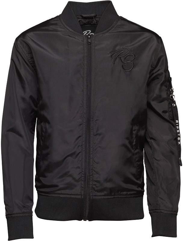 Ripstop Junior Boys Harding Jacket Jet Black