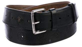 Louis Vuitton Mahina Leather Belt