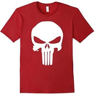 Marvel Punisher Classic Skull Symbol Graphic T-Shirt