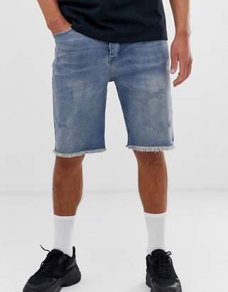 Bolongaro Trevor ripped denim shorts