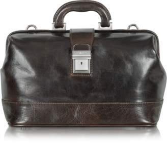 Chiarugi Medium Dark Brown Leather Doctor Bag