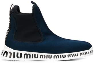 Miu Miu pull-on sneakers