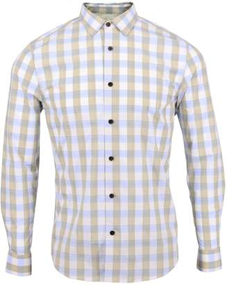 Lords of Harlech - Nigel Shirt In Sand Gingham