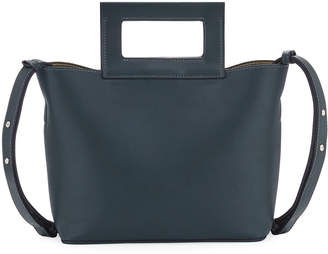 French Connection Corey Small Faux-Leather Tote Bag