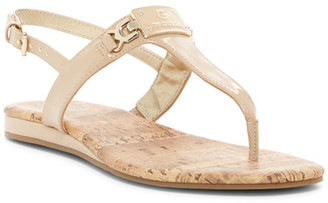 G by GUESS Jemma Thong Wedge Sandal $29 thestylecure.com