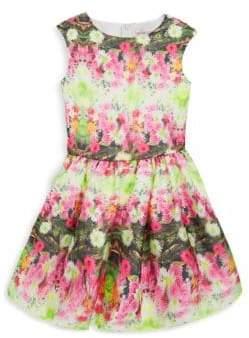 Halabaloo Baby's, Little Girl's & Girl's Garden Party 3D Dress
