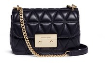 MICHAEL Michael Kors Michael Kors 'Sloan' small quilted lambskin leather chain crossbody bag